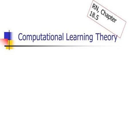 计算学习理论