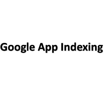 Google App Indexing