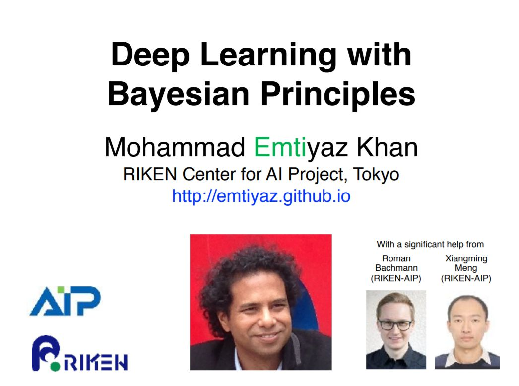 贝叶斯与深度学习如何结合?看这份《贝叶斯深度学习: DL与Bayesian原理 》NeurIPS2019硬核教程