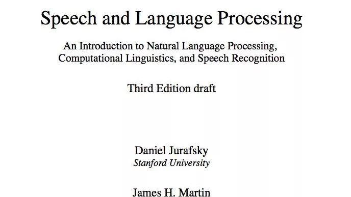 自然语言处理综论英文版第3版目前完成章节的整体下载地址