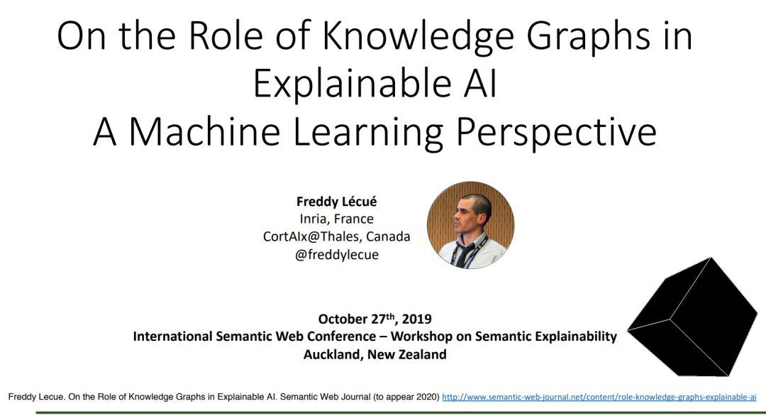 知识图谱在可解释人工智能中的作用,附81页ppt