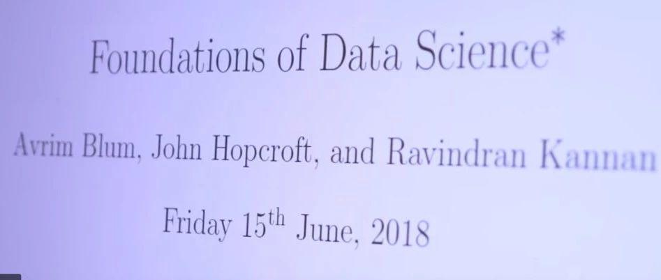 微软研究院出品《数据科学基础》,放眼未来40年(附PDF下载)