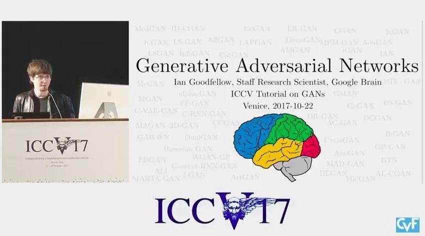 ICCV17 :12为顶级大牛教你学生成对抗网络(GAN)!