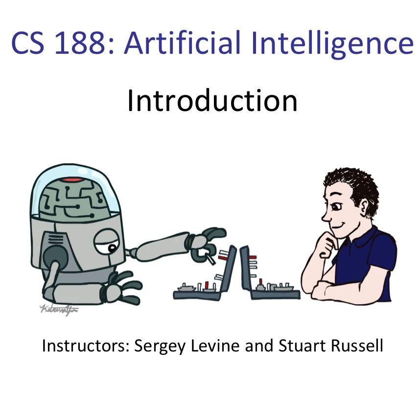 加州伯克利CS188人工智能导论全部课件(持续更新中)