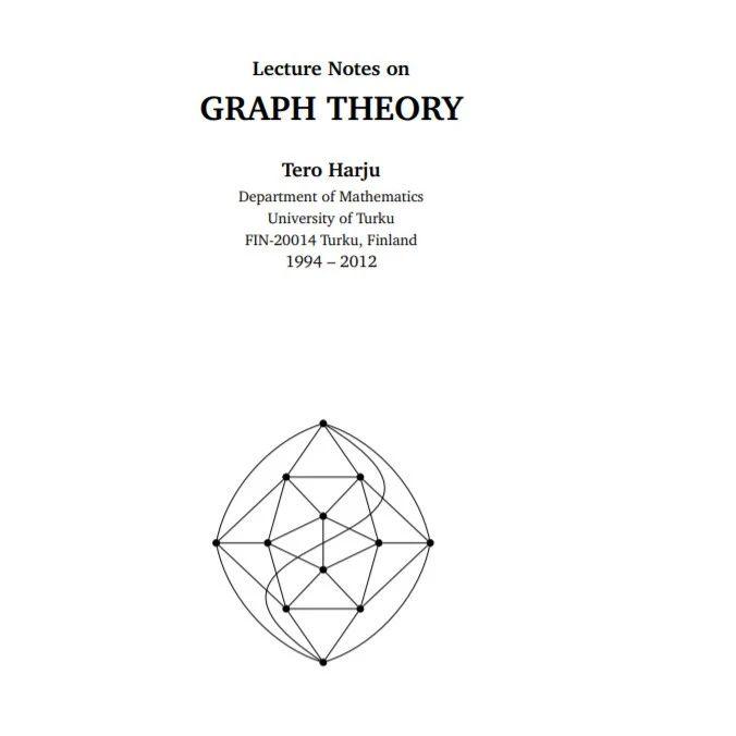 最新《图理论》笔记书,98页pdf
