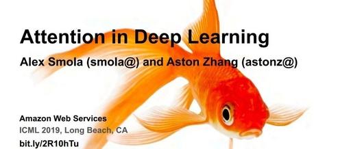深度学习注意力机制-Attention in Deep learning-附101页PPT
