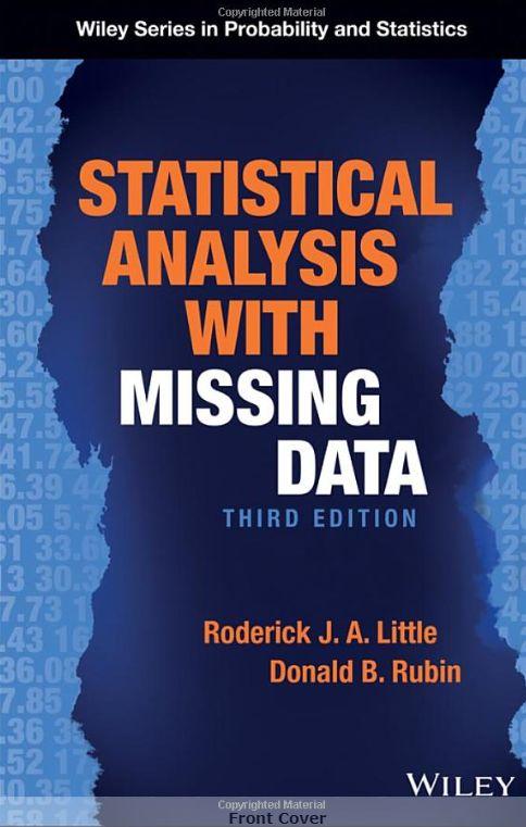 缺失数据统计分析,第三版,462页pdf