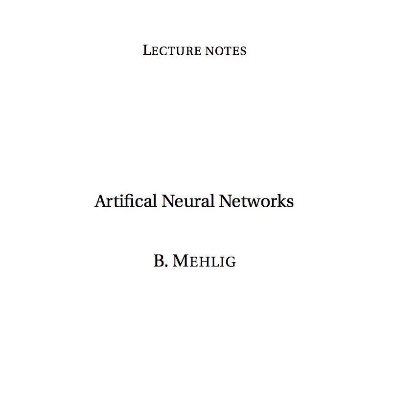 【课程讲义】176页哥德堡大学人工神经网络讲义