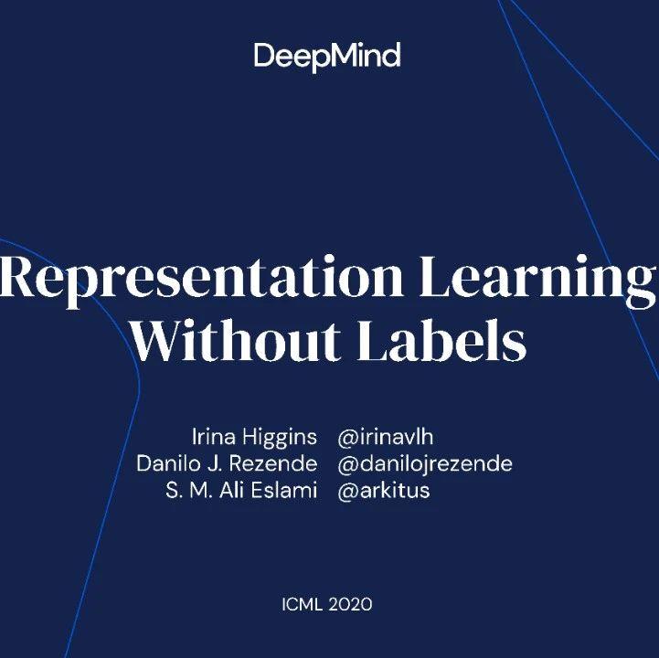 【ICML2020-Tutorial】无标签表示学习,222页ppt,DeepMind