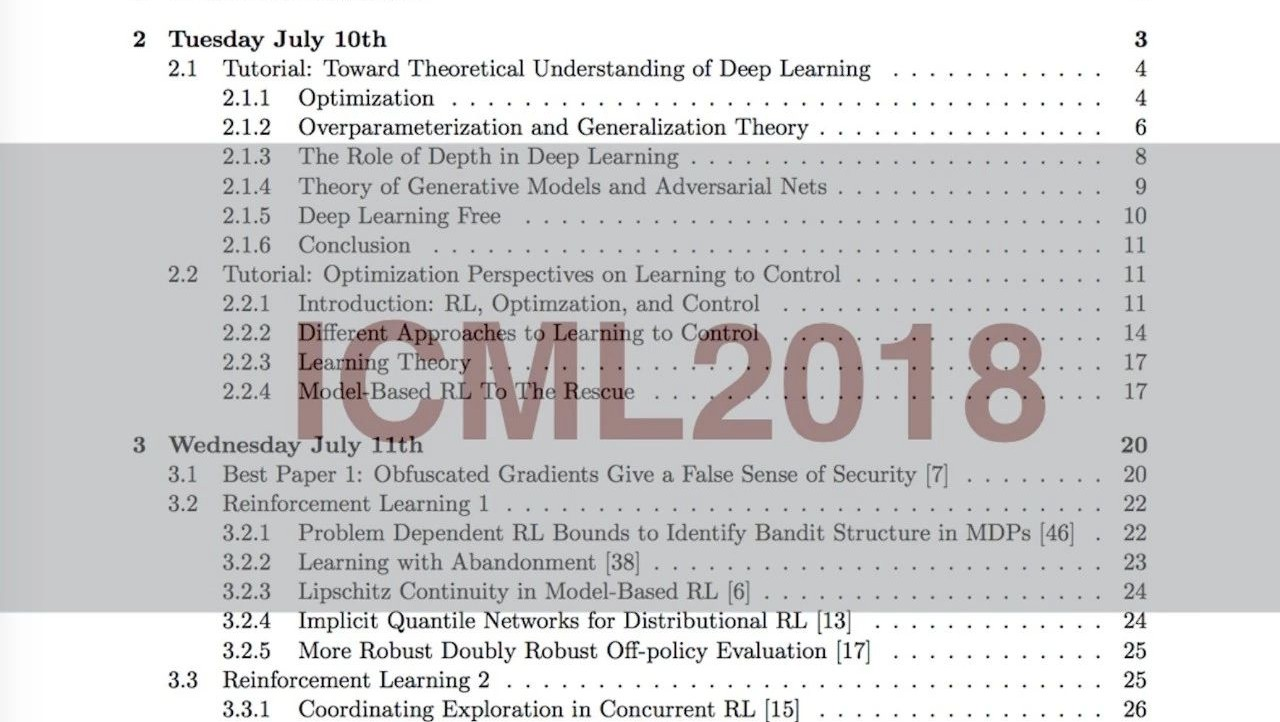 """一份AI博士生的ICML2018""""学霸""""笔记(55页)"""