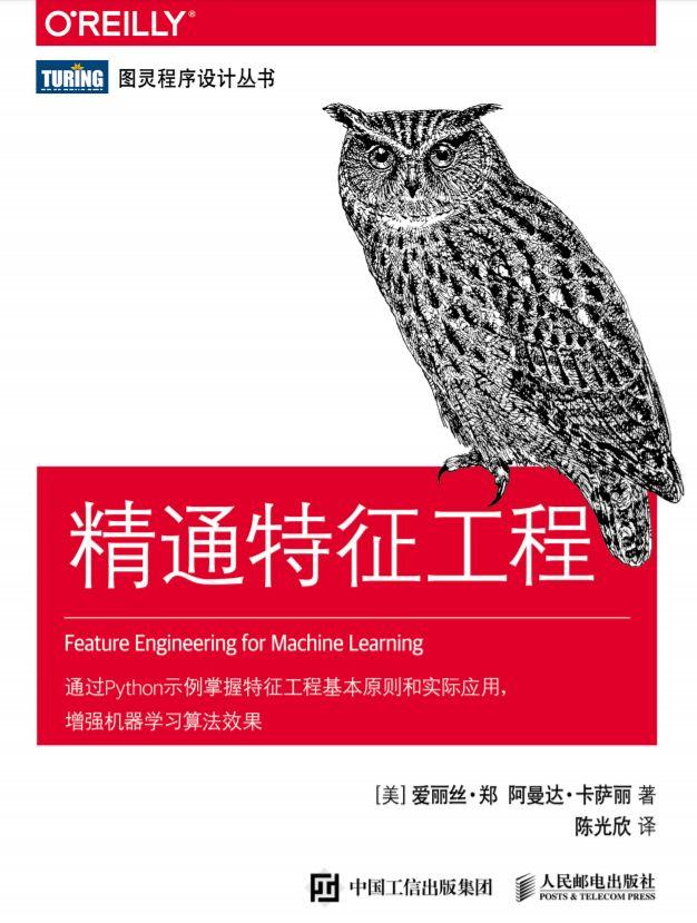 【经典书】精通机器学习特征工程,中文版,178页pdf