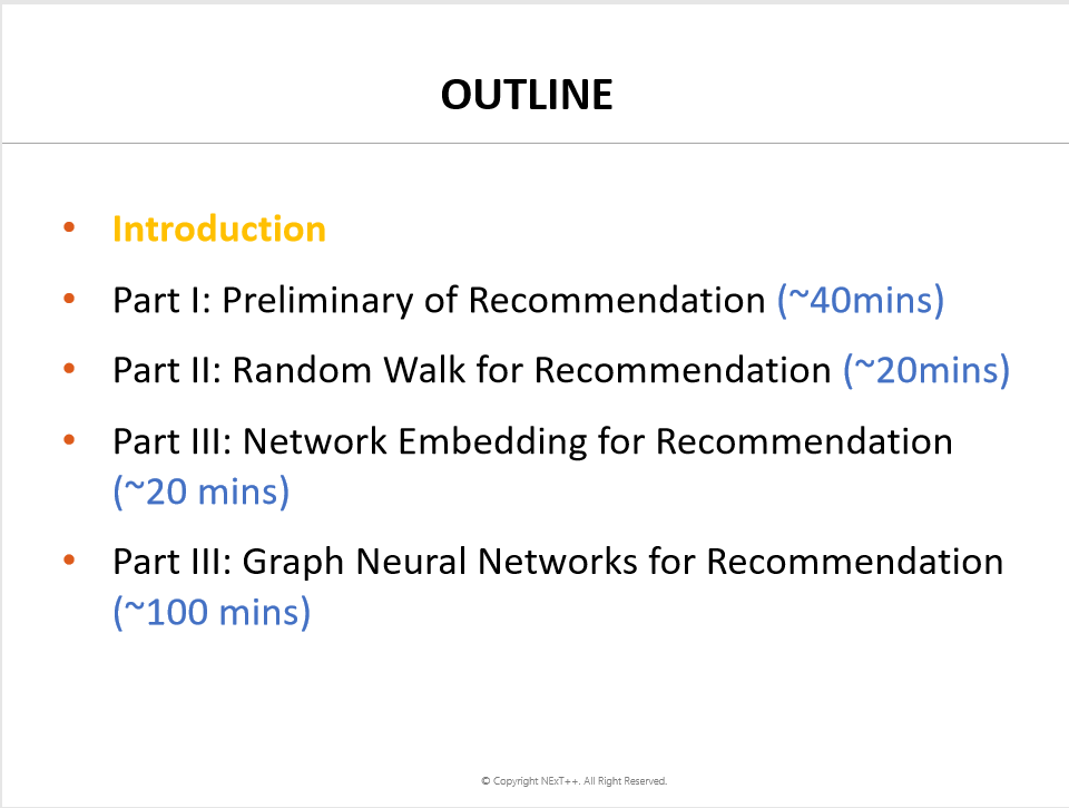 【CIKM2019 Tutorial】Learning and Reasoning on Graph for Recommendation(图网络上的推荐系统),附133页PDF免费下载